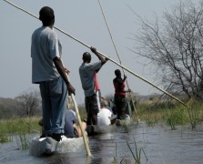 African Adventure Safaris  -  Okavango Delta, Mokoro Excursion