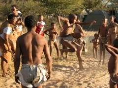 African Adventure Safaris -  Botswana Bushmen Games