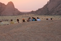 African Adventure Safaris  -  Spitzkoppe Sunset