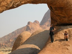 Destination Namibia  -  Spitzkoppe, The Bridge