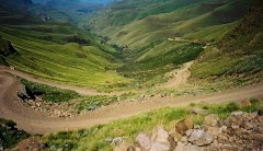 Self Drive Itineraries  -  South Africa / Lesotho, Sani Pass