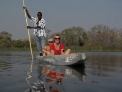 African Safaris  -  Okavango Delta Mokoro