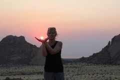 African Safaris  -  Namibia, Spitzkoppe Sunset Capture