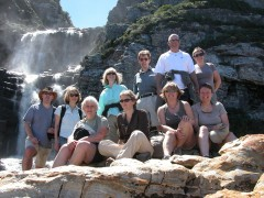 African Safaris  -  Tsitsikamma National Park, Waterfall